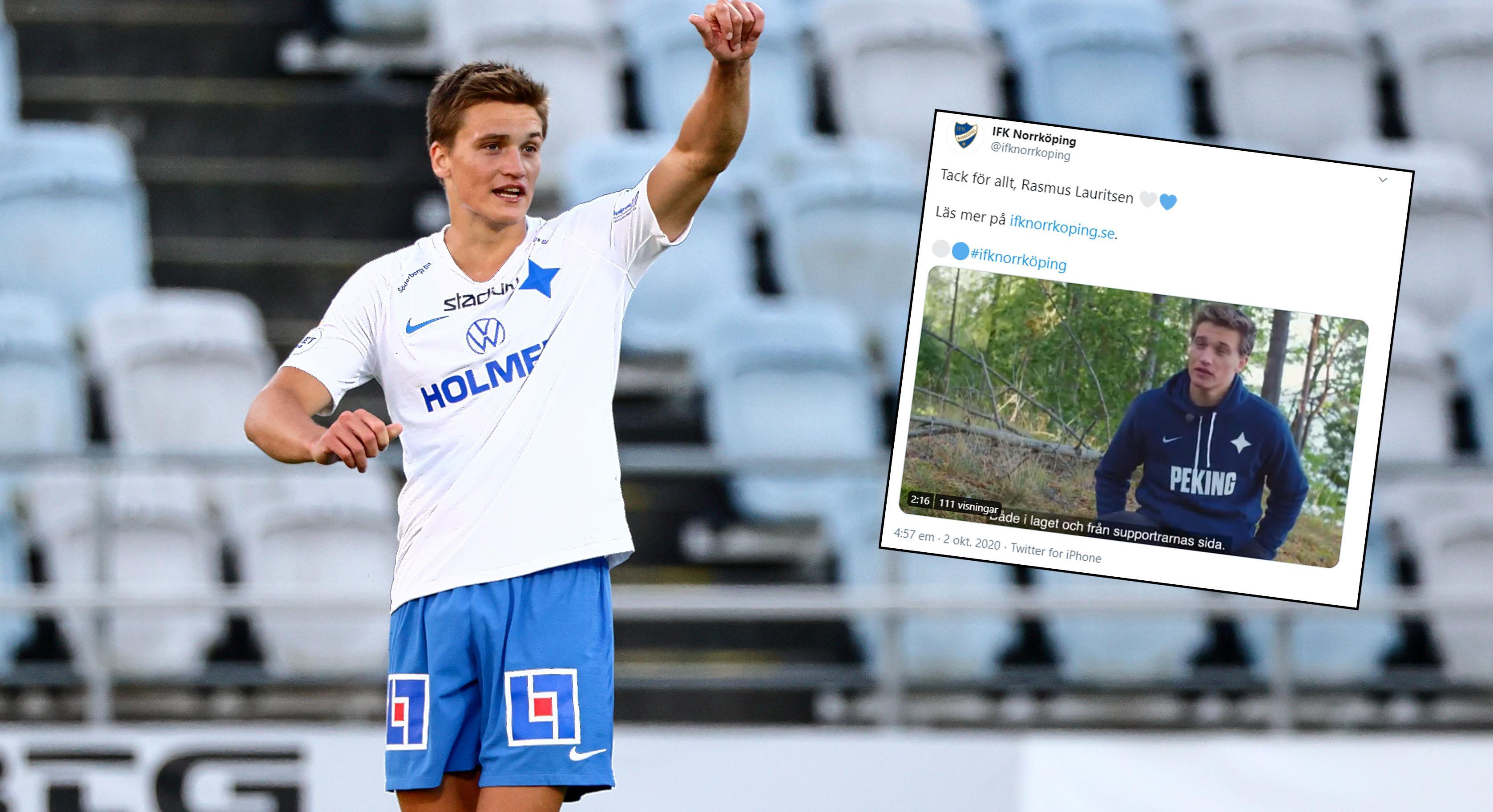 Officiellt: Rasmus Lauritsen lämnar IFK Norrköping för kroatisk klubb