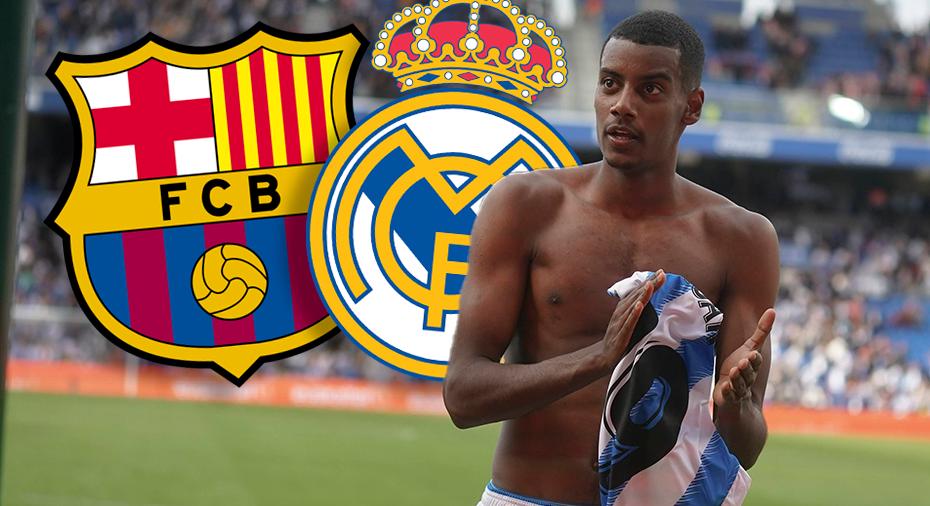"""Isak kommenterar ryktena: """"En sorts ära - känner att jag visat upp mig mot Barça och Real"""""""