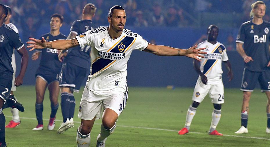 """Officiellt: Zlatan förlänger med Galaxy - blir """"designated player"""""""