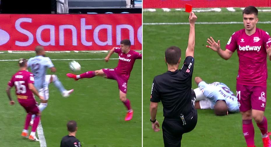 TV: Målkalas och karatespark - Celta Vigo körde över Deportivo Alavés