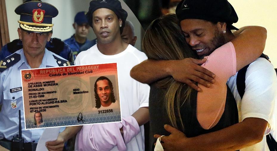 """Ronaldinho bryter tystnaden efter gripandet: """"Vi blev väldigt överraskade"""""""