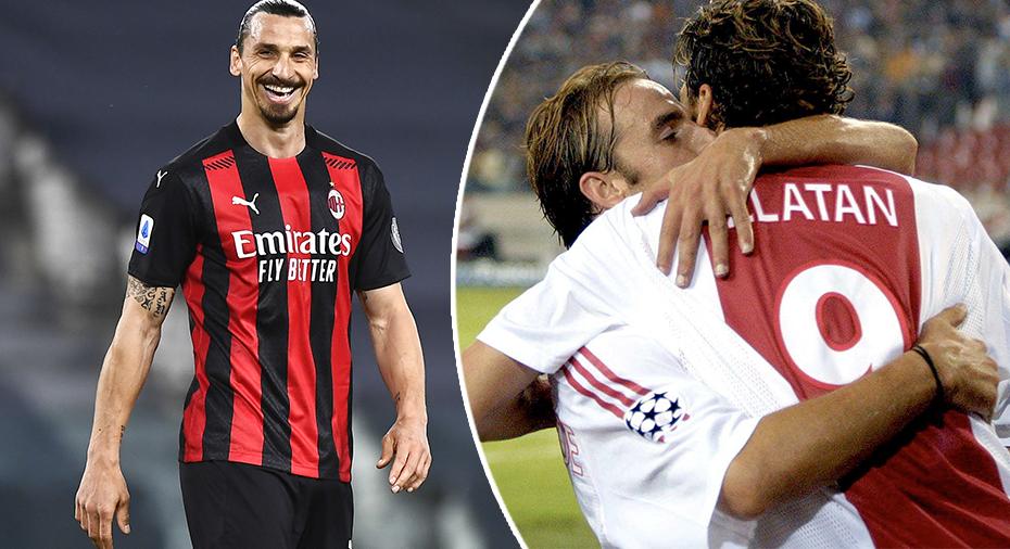 """Berättar: """"Jag pussade Ibrahimovic på munnen - sedan slog han mig"""""""