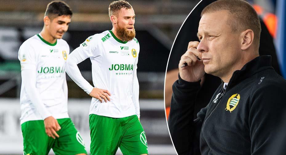 """Hammarbys Billborn orolig: """"Varit tuffa mot spelarna rent individuellt - det här är inte okej"""""""