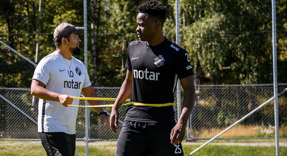 AIK:s glädjebesked: Otieno hoppas vara spelklar i september