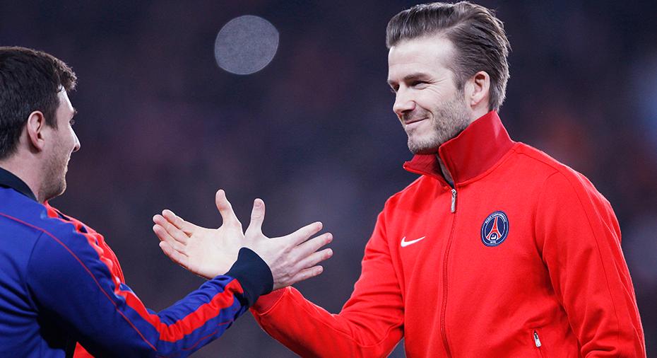 """Beckham: """"Messi är unik, Ronaldo är inte på hans nivå"""""""