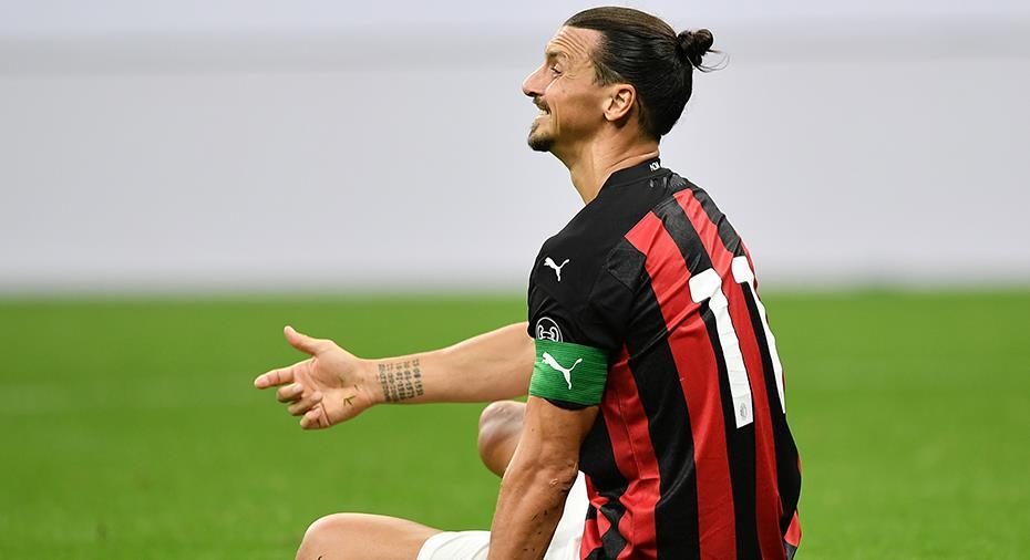 Ibrahimovic har testat positivt igen - Milano-derby i fara