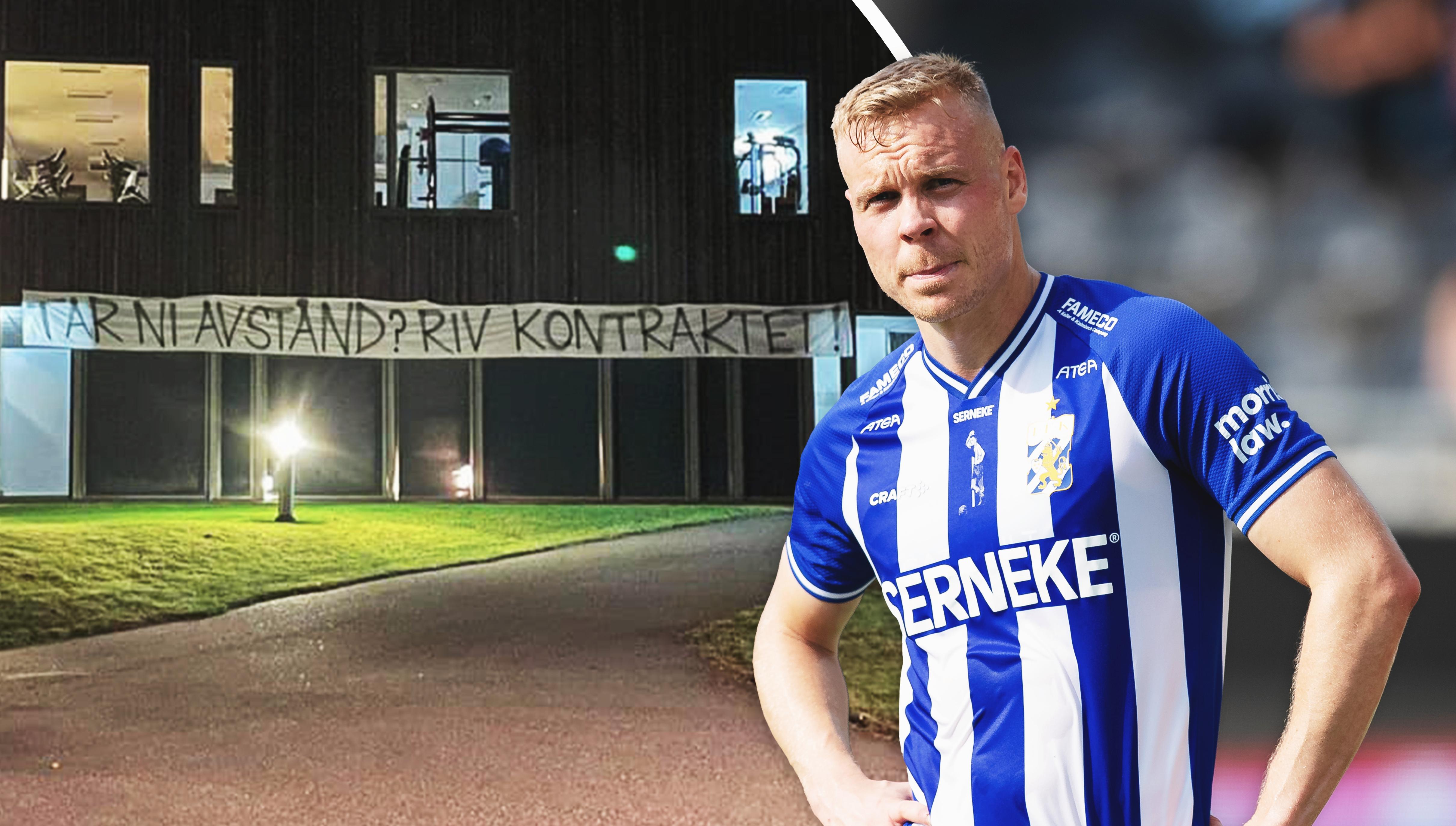 """Fansens krav på Blåvitt: """"Riv kontraktet med Sigthorsson"""""""