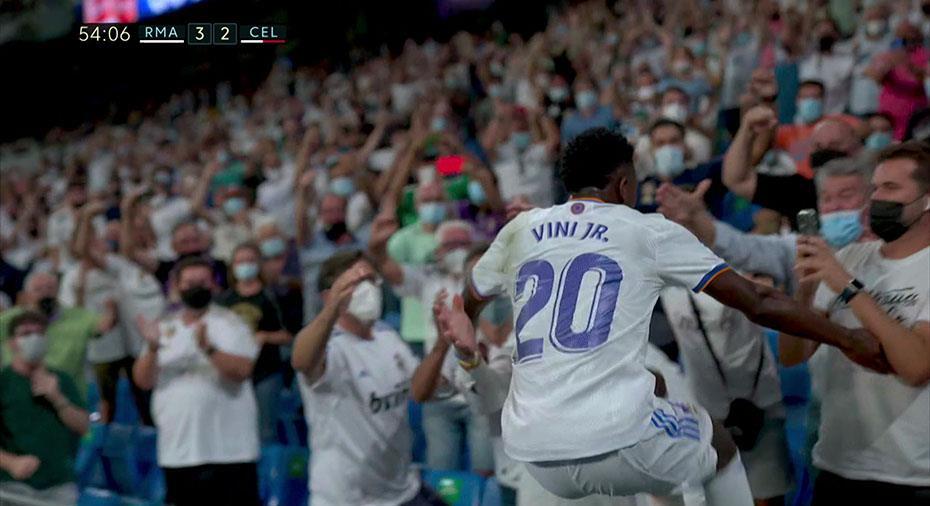 TV: Real Madrid vann stort - supertalangen målskytt i debuten