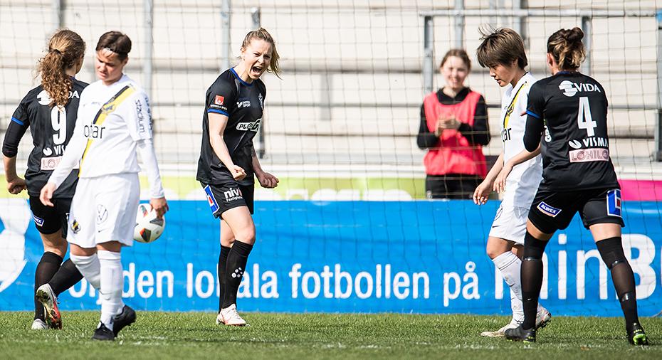TV: Straffräddning och straffmål - Växjö kvitterade sent mot AIK i premiären