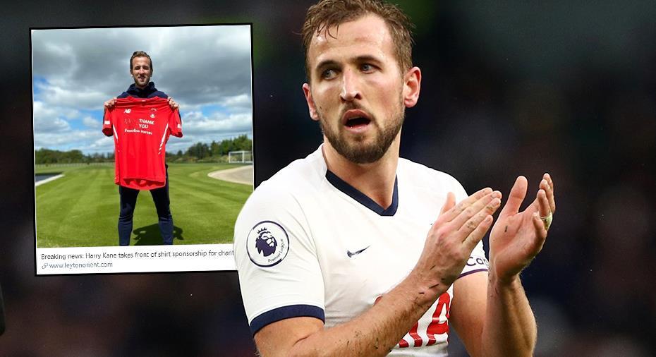 """Kane tröjsponsrar tidigare klubb: """"Förebild för den moderna fotbollen"""""""