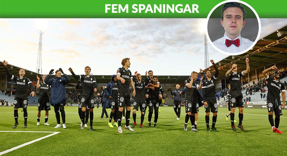 """IFK Göteborg: FEM SPANINGAR: """"Nya Blåvitt - går bra även när det är dåligt"""""""