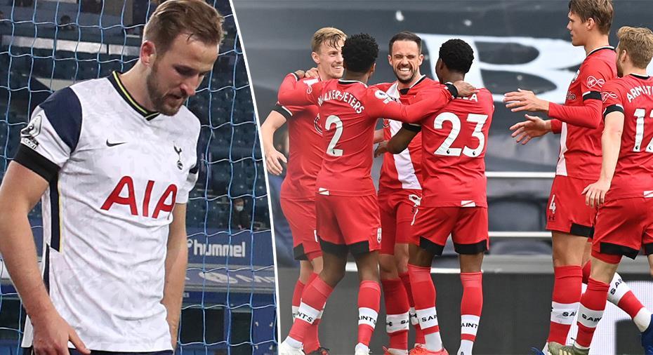 JUST NU: Efter kaosdagarna - Spurs i underläge mot Southampton