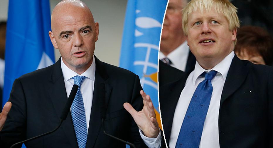 """Fifa-basen vädjar till Premier League - och Boris Johnson: """"Släpp era spelare"""""""