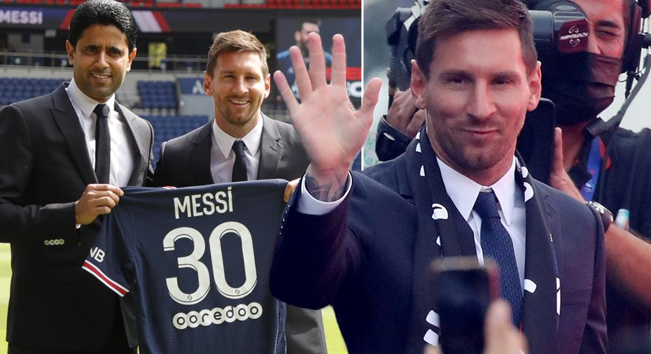 """PSG betalar Messi med kryptovaluta: """"Blev förvånad - en plojgrej"""""""