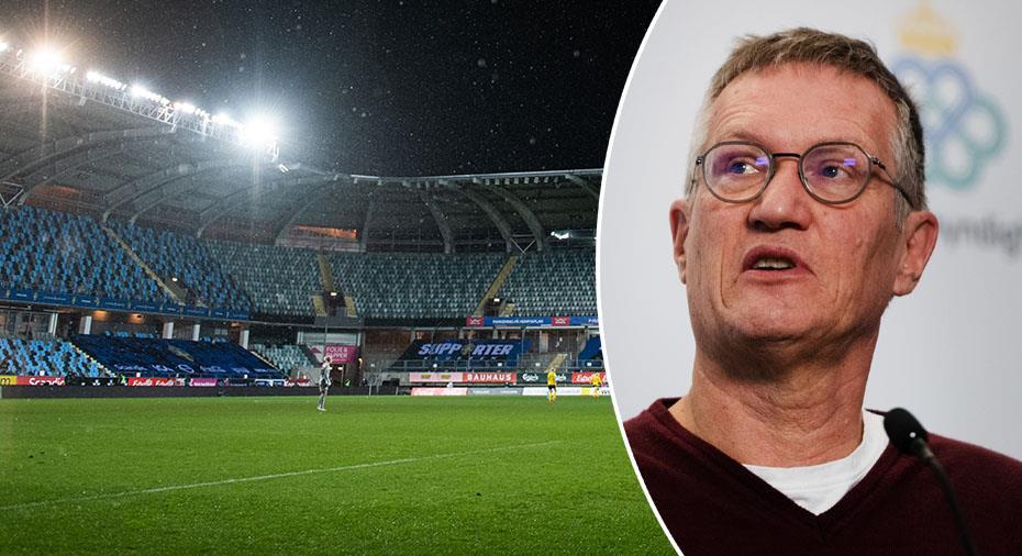 Nya restriktioner i Sverige - nu ser tio allsvenska  klubbar ut att stoppas från att ta in publik
