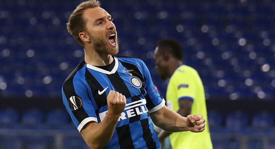 Eriksen sänkte Getafe - Inter klart för EL-kvartsfinal