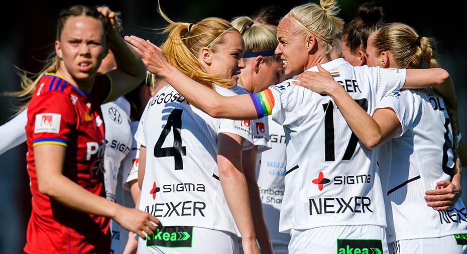 TV: Rosengård tog fjärde raka - vann stort över Djurgården
