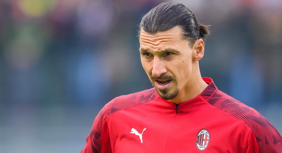 JUST NU: Zlatan från start i Milan