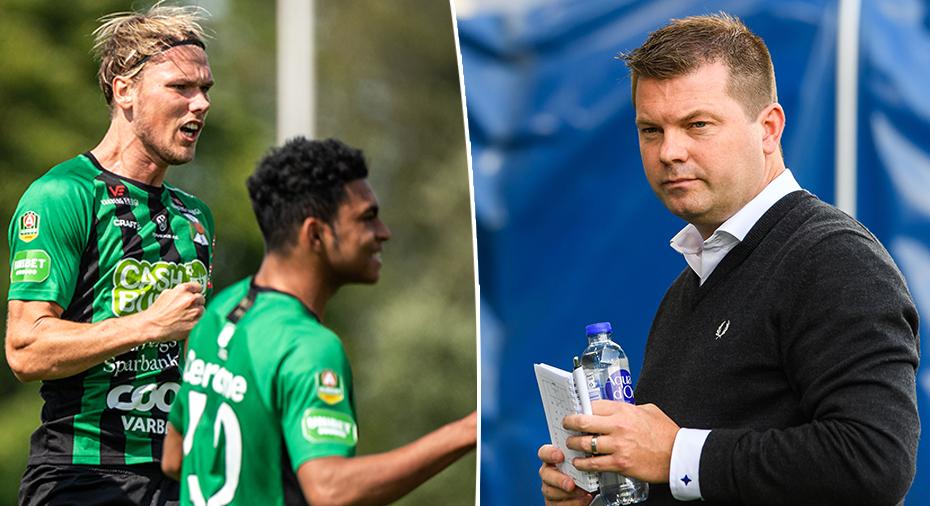 """Gustafsson: """"Varberg är en väldigt frisk fläkt"""""""