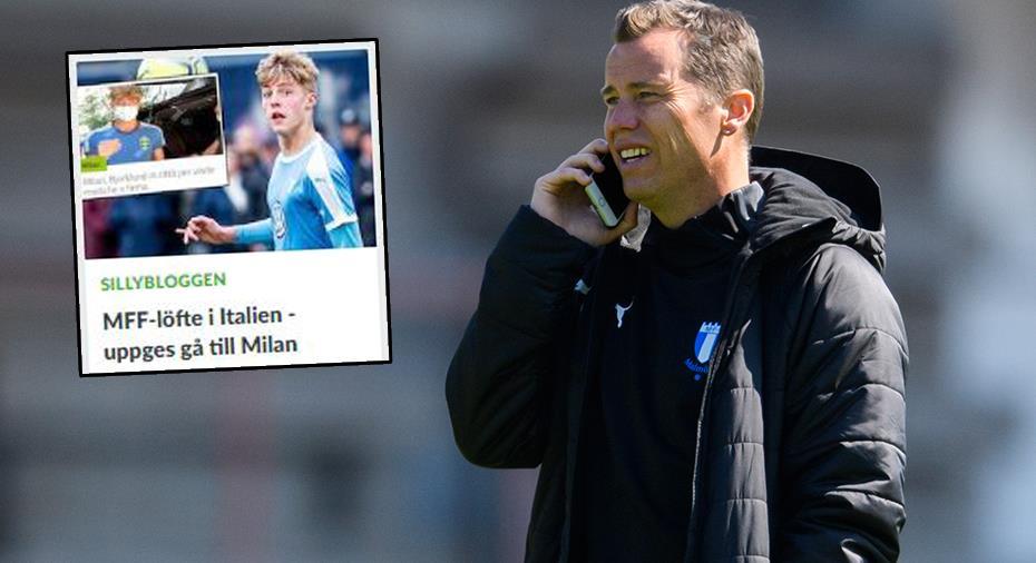 "MFF-sportchefen bekräftar samtal med Milan om löfte: ""Bra diskussioner"""