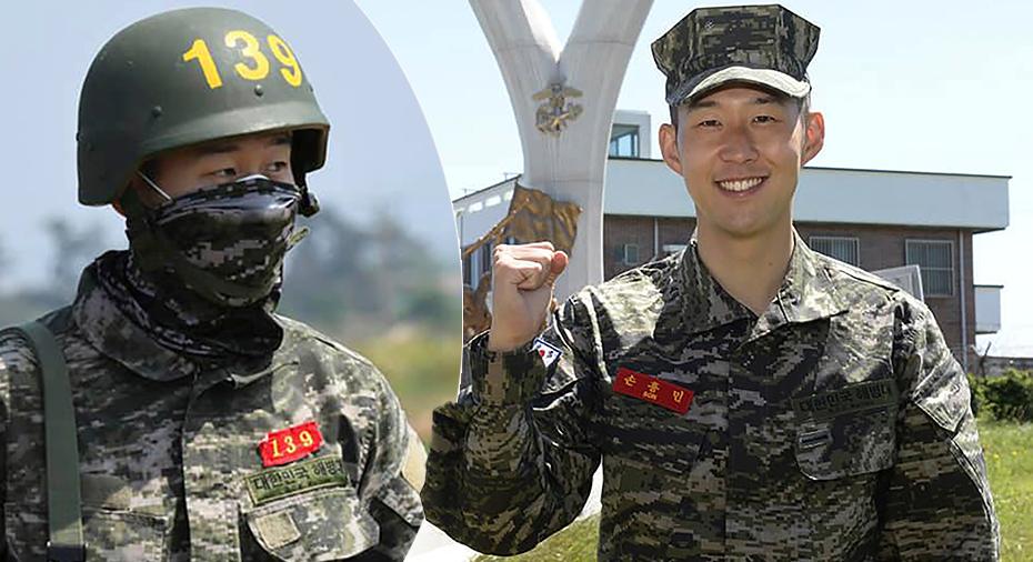 Son klar med militärtjänsten i Sydkorea – fick 10 av 10 i skytte