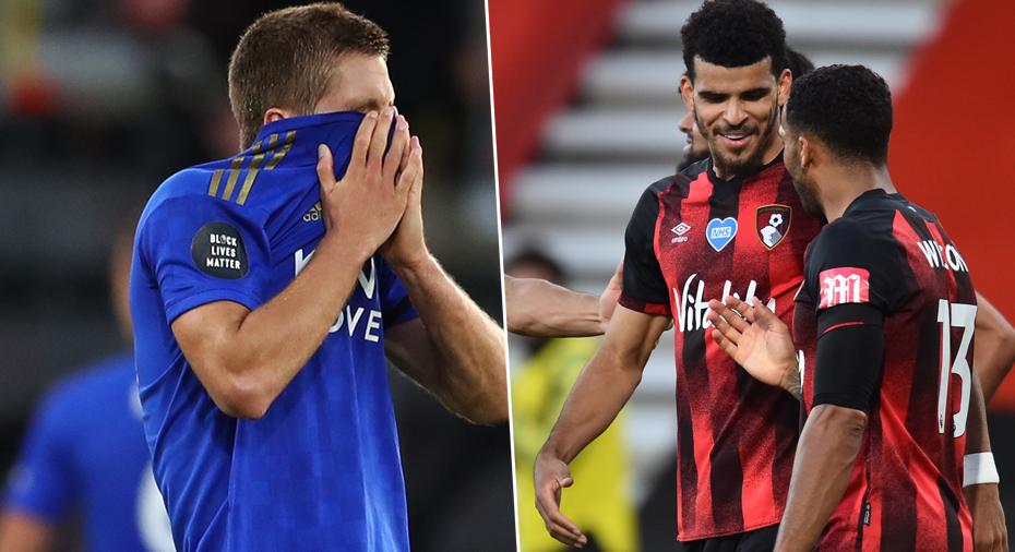 Leicester överkört i jakten på CL-plats - Bournemouth tog viktiga poäng i bottenstriden