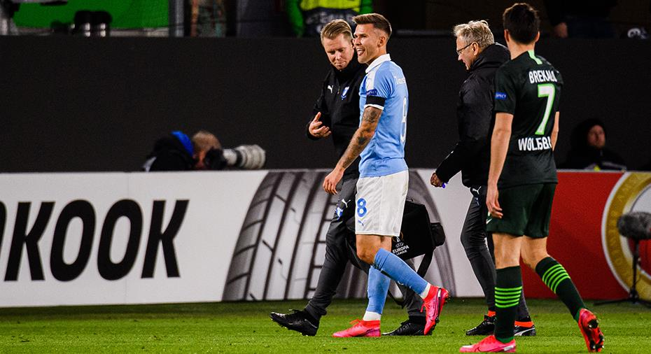 Fortsatt ingen Traustason på MFF:s träning – spel mot Wolfsburg i fara
