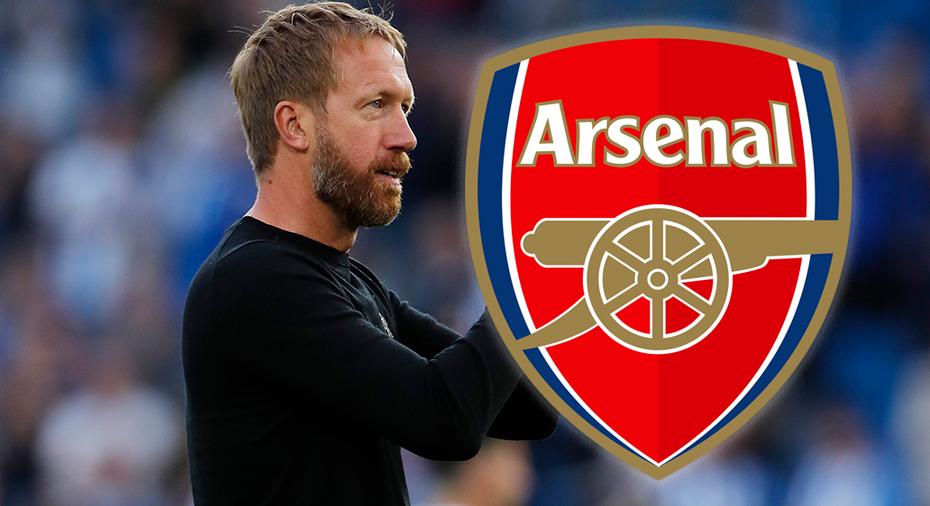 Uppgifter: Potter aktuell att ersätta Arteta i Arsenal