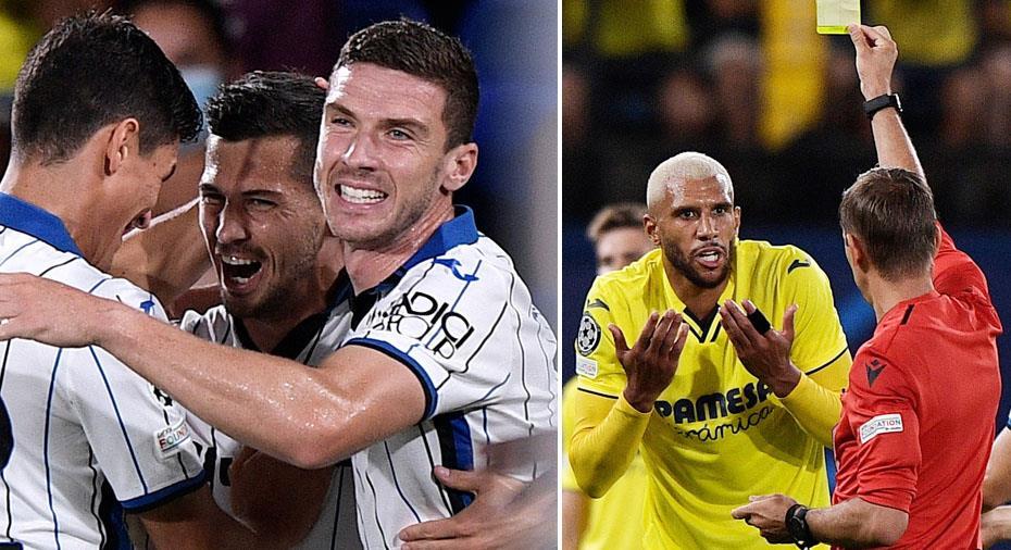 Höjdpunkter: Händelserik match när Villarreal och Atalanta delade på poängen