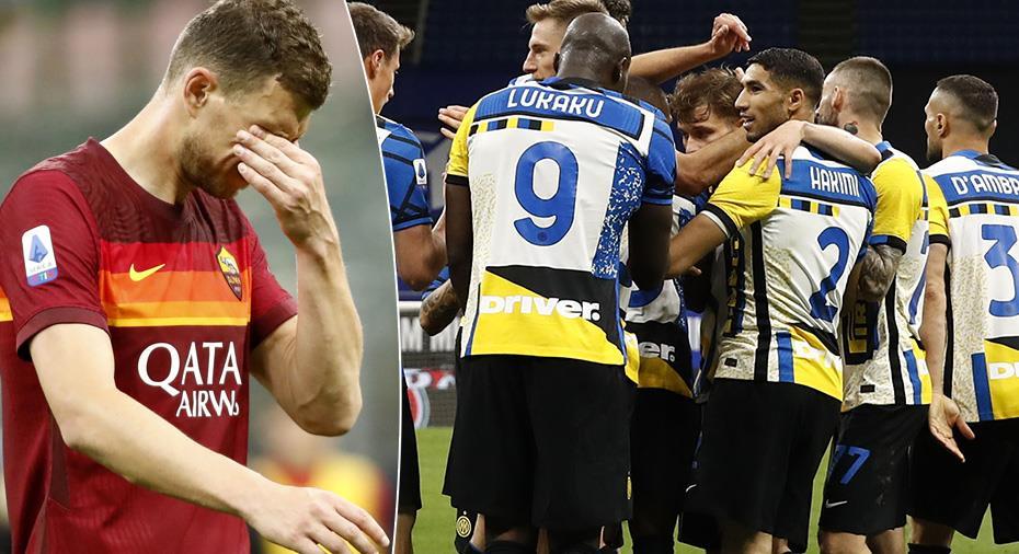 TV: Roma föll tungt mot Inter - fick hjälp av Juventus