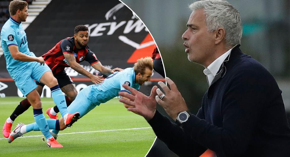 """Mourinho har fått rätt - borde varit straff: """"Alla i världen kan se det"""""""