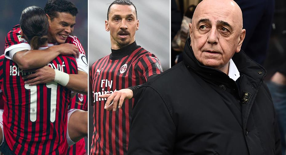 """Galliani minns Milans ras - började med Zlatans flytt: """"Kollapsade"""""""