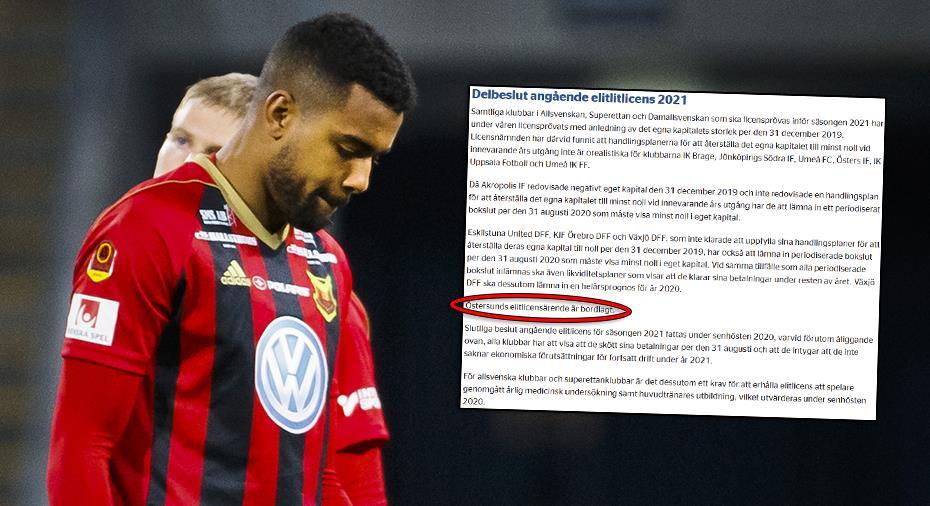 """ÖFK enda klubb som får vänta på licensbesked - reagerar: """"Är anmärkningsvärt"""""""
