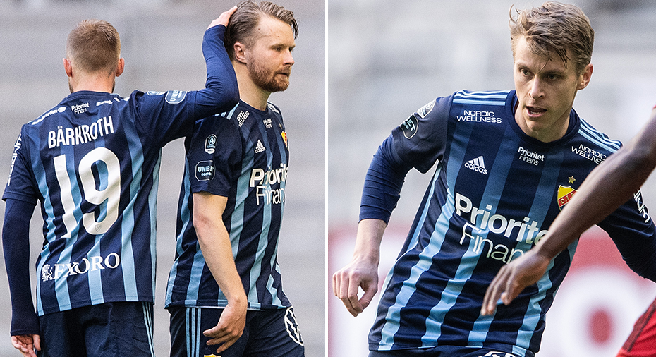 """Une Larsson lugnar om skadan: """"Jag tror att jag kan spela derbyt"""""""