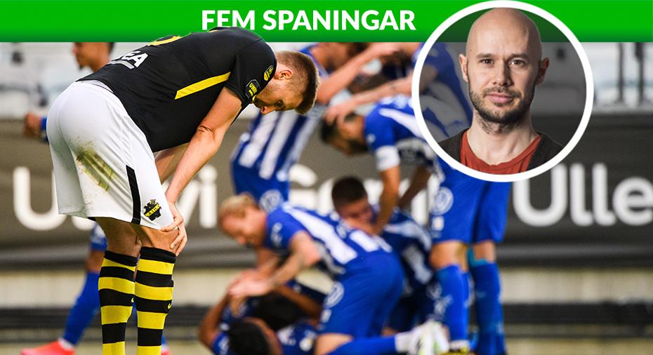 """FEM SPANINGAR: """"Hur stort är AIK-fansens tålamod?"""""""