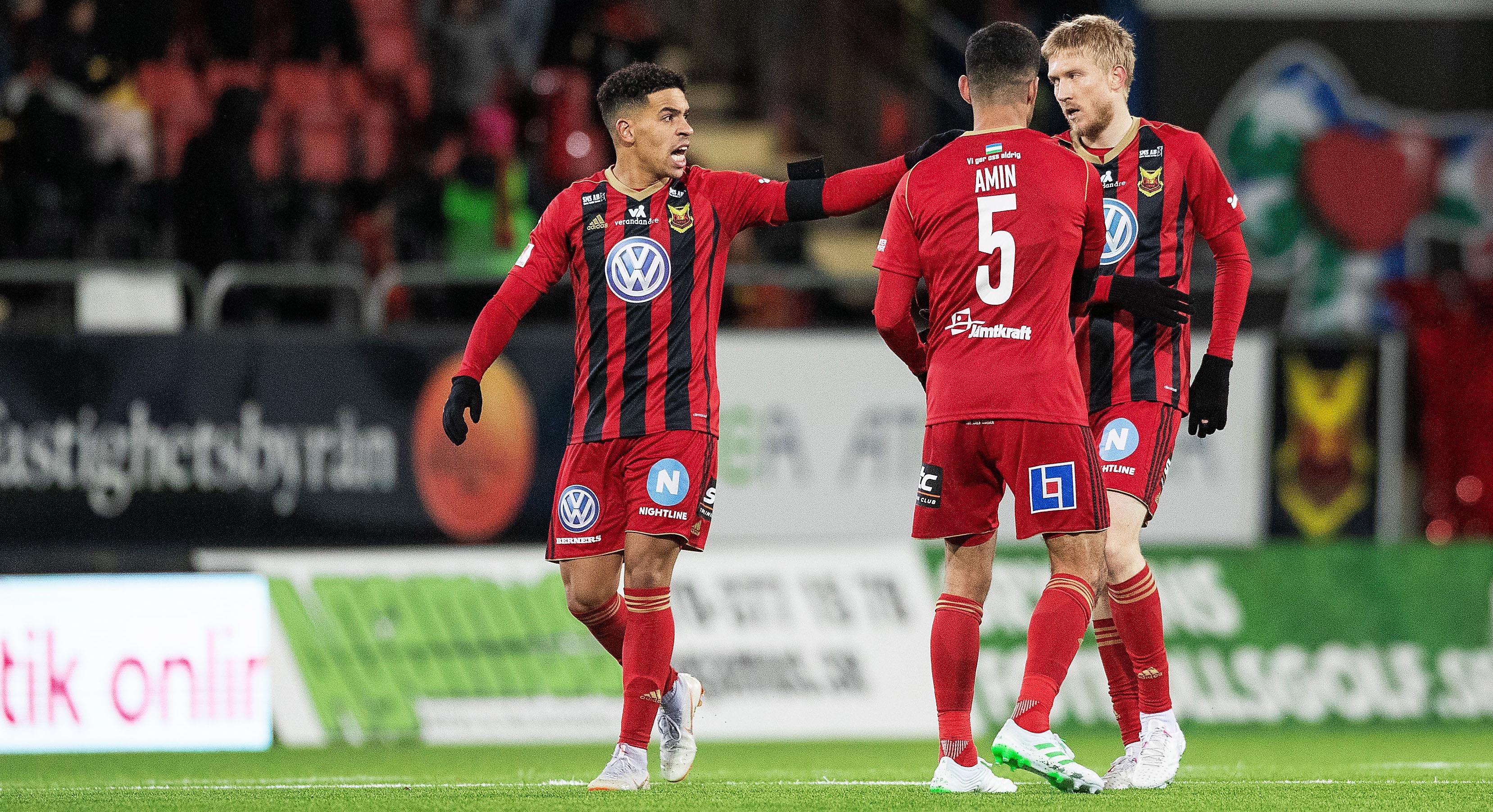 Östersund vann målrik match mot Umeå - med halva A-truppen