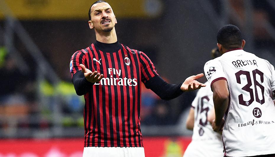 Zlatans comeback dröjer - inte med i truppen mot Roma