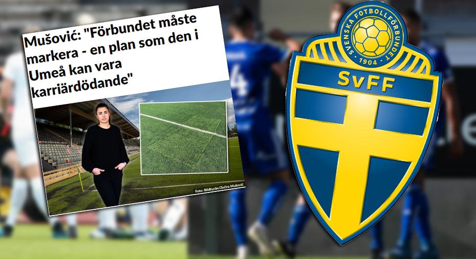 """SvFF:s besked efter kritiken mot Umeås plan: """"Får följa upp det"""""""