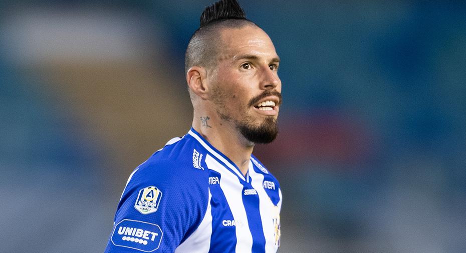 """Hamsiks ord efter debuten för Blåvitt mot AIK: """"En viktig vinst för våra ultras"""""""