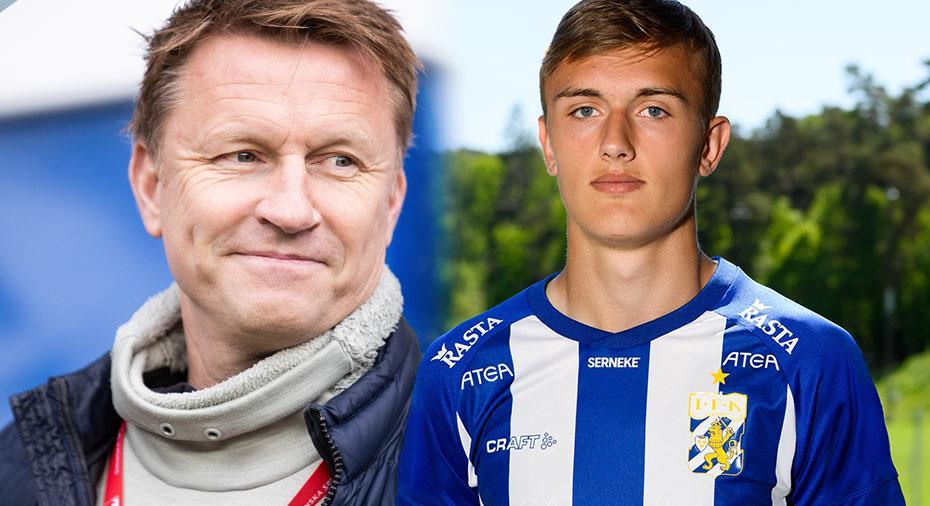 """Andersson utesluter inte en till mittback - men hyllar nye talangen: """"Enorm utveckling"""""""