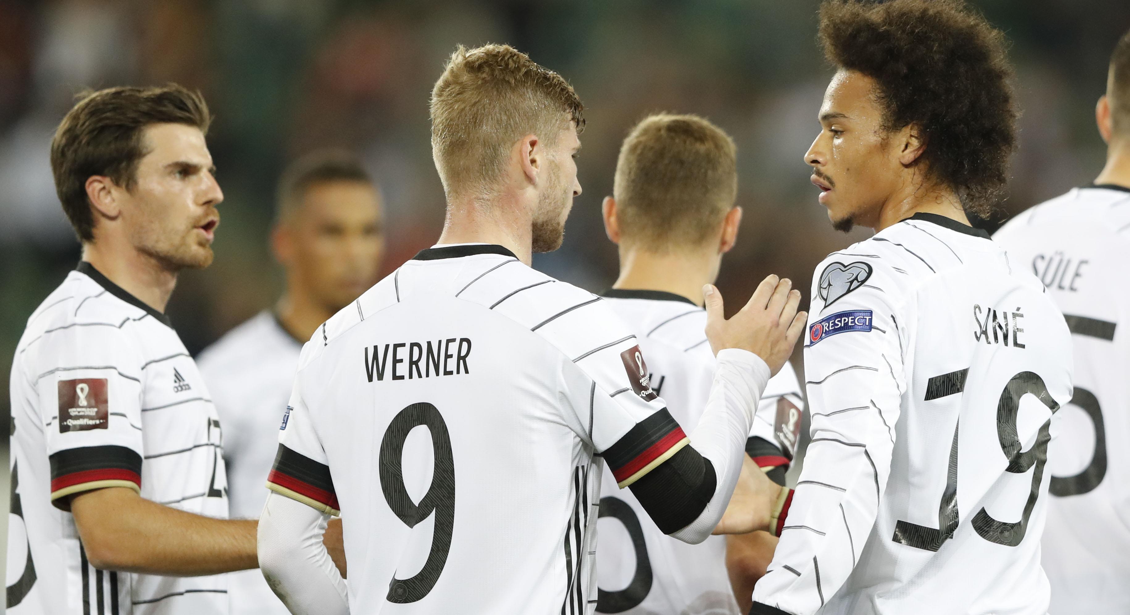 TV: Tyskland körde över Armenien med 6-0