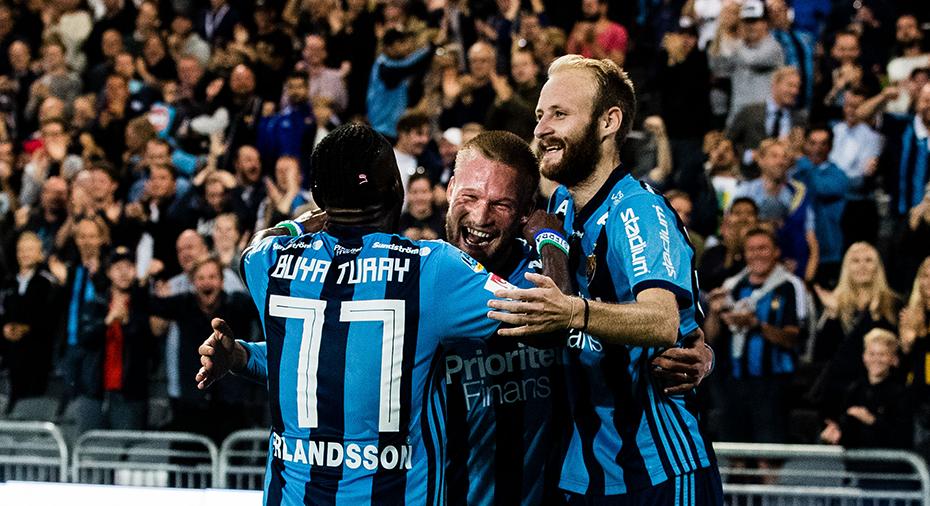 Femte raka segern för Djurgården - rycker i allsvenska toppen