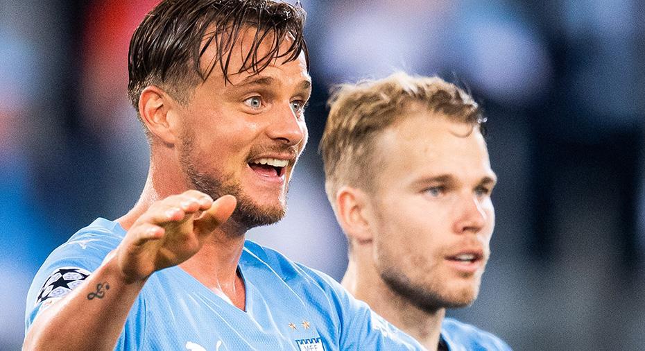 """Femte positionsbytet för Larsson - som inte klagar: """"Därför är det en fördel att spela i Malmö"""""""