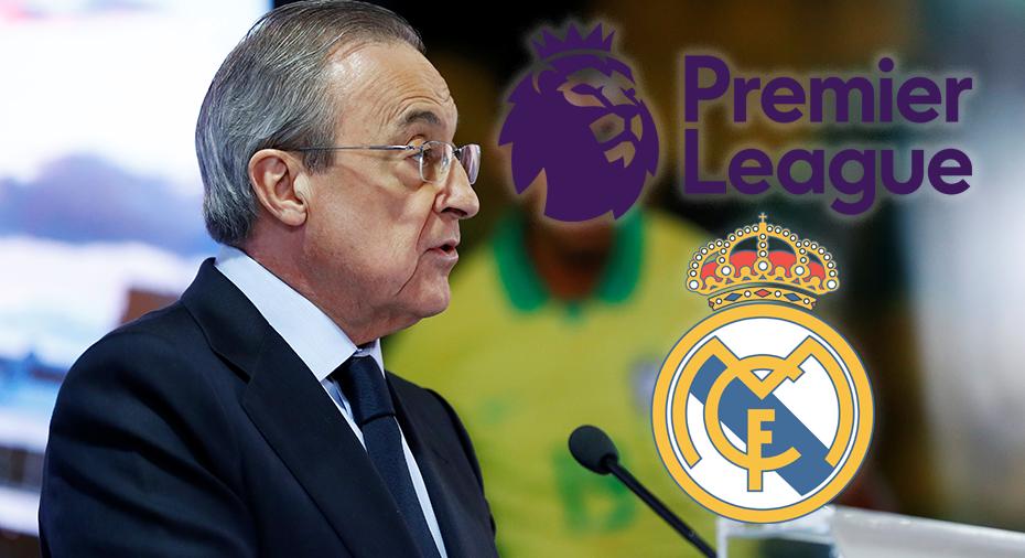Uppgifter: Real Madrid undersökte möjligheten att lämna La Liga för Premier League