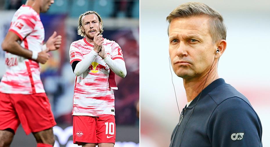 Krisen växer i Leipzig efter nytt poängtapp - Forsberg nekades mål