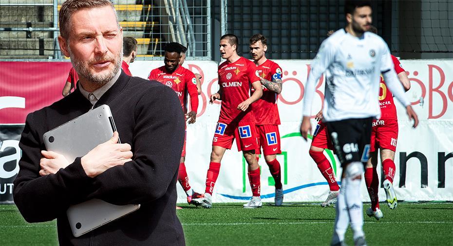 "Mållöst efter fyra matcher - ÖSK-managern pekar mot problemet: ""Blir lite krampaktigt"""