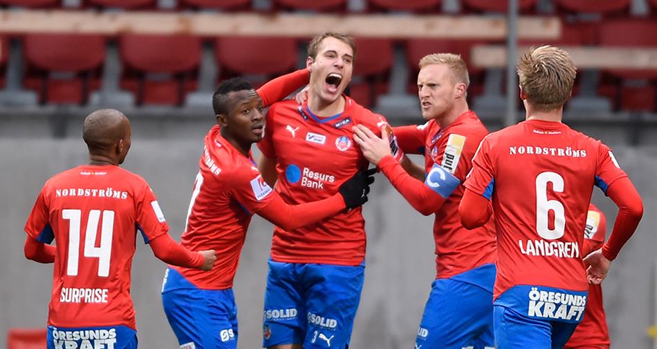TV: Seger mot J-Södra - HIF klart för kval