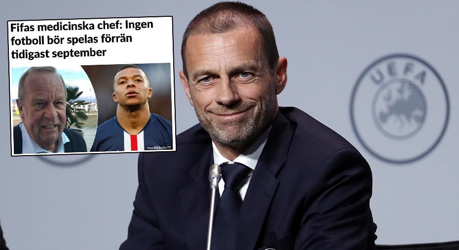 """Uefa går emot Fifa: """"Absolut möjligt att spela"""""""