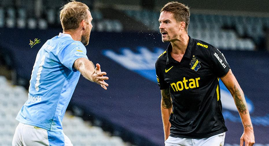 """AIK höll nollan i Lustigs första start: """"MFF hade inte fått in bollen om vi spelat 20 min till"""""""
