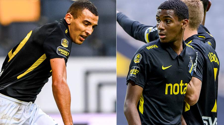 """Abraham om AIK-framtiden och tacksamheten gentemot Bahoui: """"Han är min bror"""""""